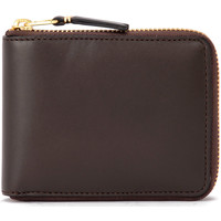 Bags Women Wallets Comme Des Garcons Wallet in dark brown leather Brown