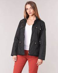 Clothing Women Parkas Lauren Ralph Lauren FIELD JACKET Black