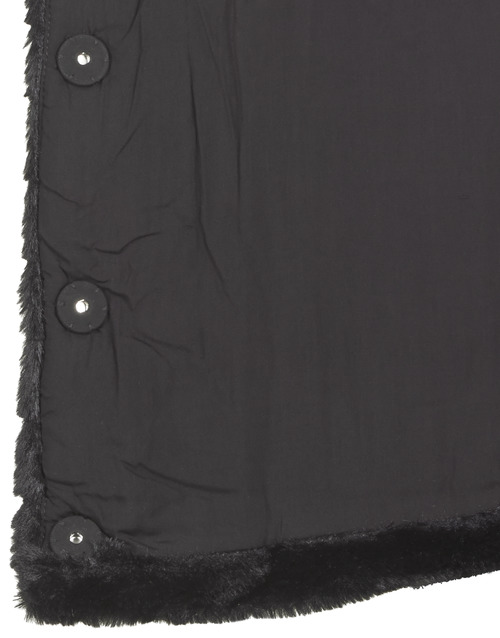 Lauren Ralph Lauren FAUX CHUBBY Black - Free delivery  ! - Clothing coats Women   161.40