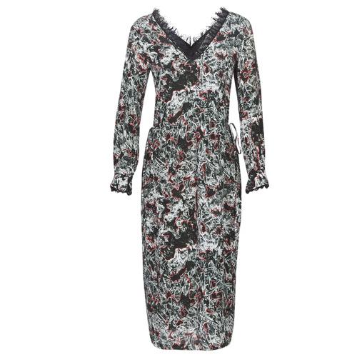 Clothing Women Long Dresses Heimstone LAKE Black / Multicoloured