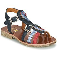 Shoes Girl Sandals Catimini CAMALA Blue