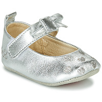 Shoes Girl Slippers Catimini CORIDA Vte / Silver
