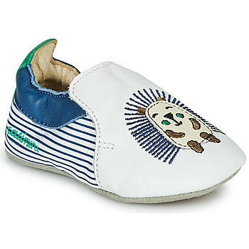 Shoes Boy Slippers Catimini COFFI White / Marine