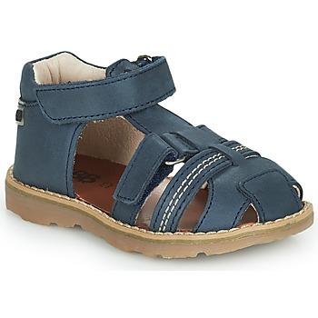 Shoes Boy Sandals GBB SEVILLOU Blue