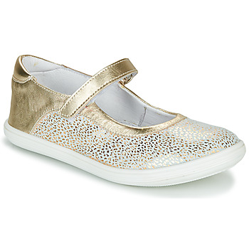 Shoes Girl Flat shoes GBB PLACIDA Gold