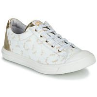 Shoes Girl Low top trainers GBB MATIA White / Gold
