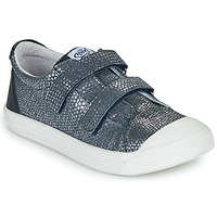 Shoes Girl Low top trainers GBB NOELLA VTE MARINE ARGENT DPF/MILENA