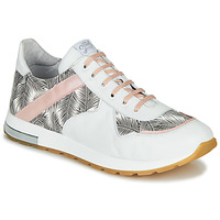 Shoes Girl Low top trainers GBB LELIA White / Black