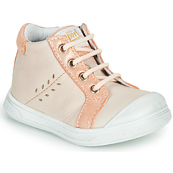 Shoes Girl Hi top trainers GBB AGAPE Beige