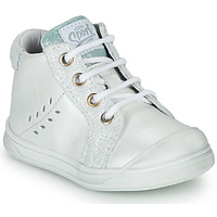 Shoes Girl Hi top trainers GBB AGAPE VTC BLANC DPF/RAMEY
