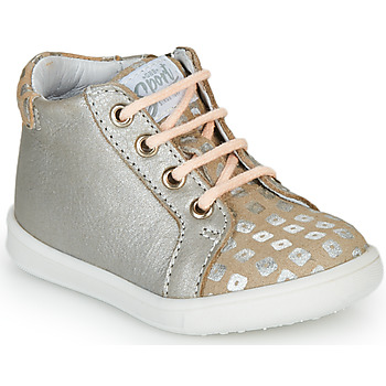 Shoes Girl Hi top trainers GBB FAMIA Beige