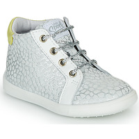 Shoes Girl Hi top trainers GBB FAMIA Silver