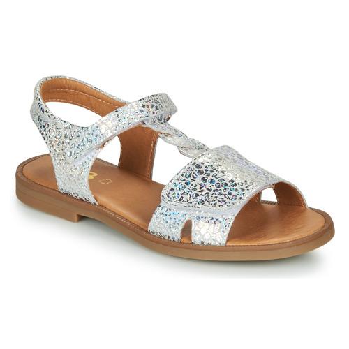 Shoes Girl Sandals GBB FARENA Silver