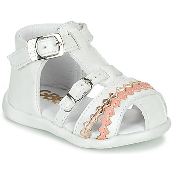 Shoes Girl Sandals GBB ALIDA White