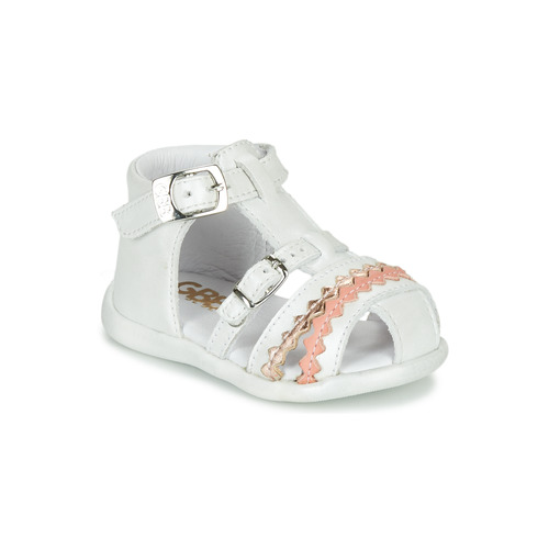 Shoes Girl Sandals GBB ALIDA White