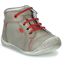 Shoes Boy Hi top trainers GBB PARGA VTE GRIS DPF/RAIZA