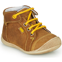 Shoes Boy Hi top trainers GBB PARGA Brown