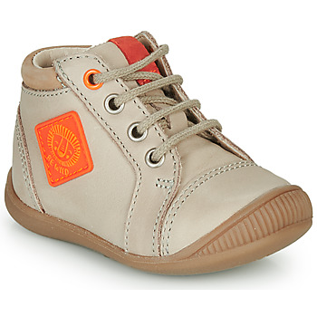 Shoes Boy Hi top trainers GBB TARAVI Beige