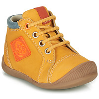 Shoes Boy Hi top trainers GBB TARAVI Yellow
