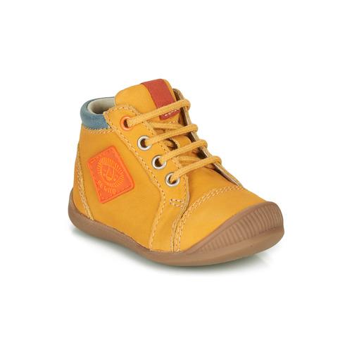 Shoes Boy Hi top trainers GBB TARAVI Orange