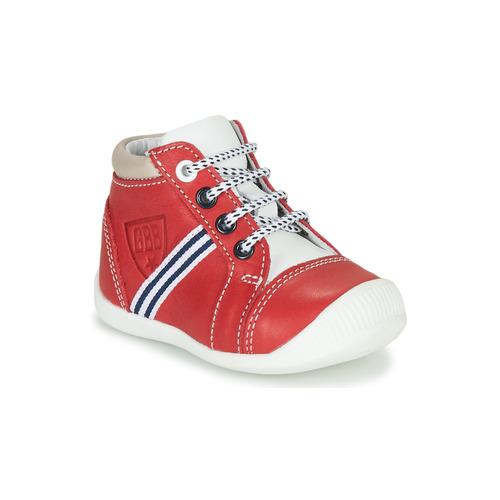 Shoes Boy Hi top trainers GBB GABRI Red