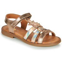 Shoes Girl Sandals GBB OLGA Pink / Gold