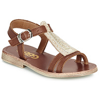 Shoes Girl Sandals GBB LAZARO VTC CAMEL DPF/COCA