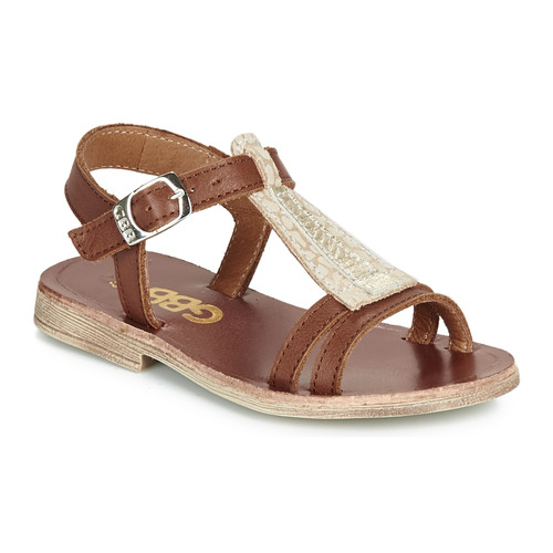 Shoes Girl Sandals GBB LAZARO Brown