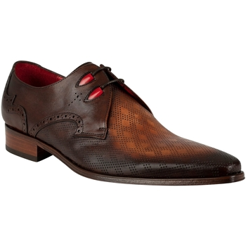 Shoes Men Derby Shoes Jeffery-West Vintage Leather Shoes brown