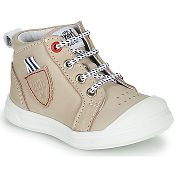 Shoes Boy Hi top trainers GBB GREGOR Beige
