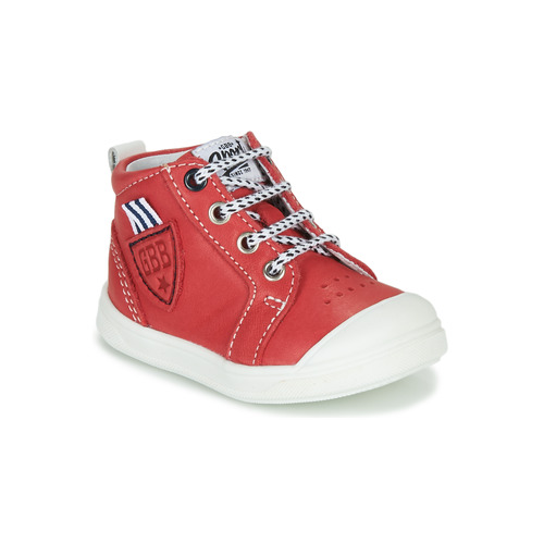 Shoes Boy Hi top trainers GBB GREGOR Red
