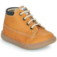 Shoes Boy Hi top trainers GBB NORMAN Cognac