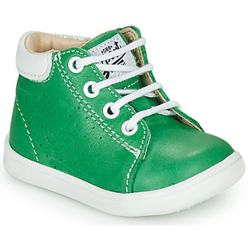 Shoes Boy Hi top trainers GBB FOLLIO Green
