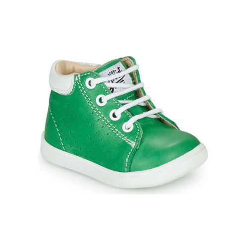 Shoes Boy Hi top trainers GBB FOLLIO Green