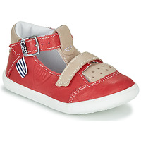 Shoes Boy Hi top trainers GBB BERETO Red