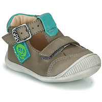 Shoes Boy Hi top trainers GBB BOLINA VTE GRIS-LAGON DPF/RAIZA