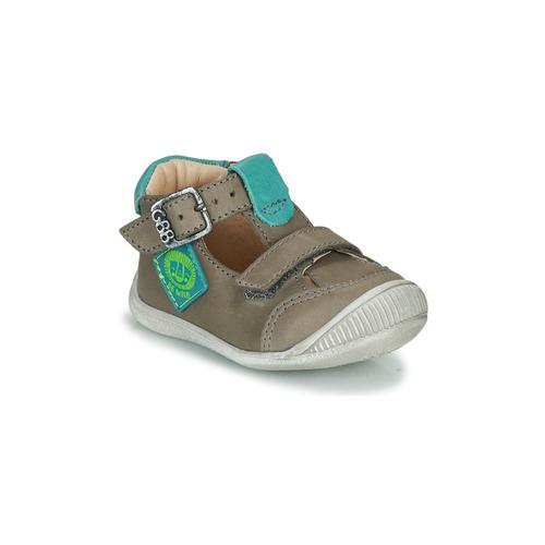 Shoes Boy Hi top trainers GBB BOLINA Grey