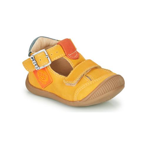 Shoes Boy Hi top trainers GBB BOLINA Orange