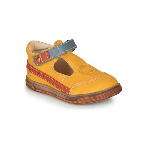 Shoes Boy Hi top trainers GBB ANGOR Orange