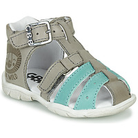 Shoes Boy Sandals GBB BORETTI Grey / Blue
