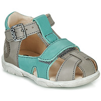 Shoes Boy Sandals GBB SEROLO Grey