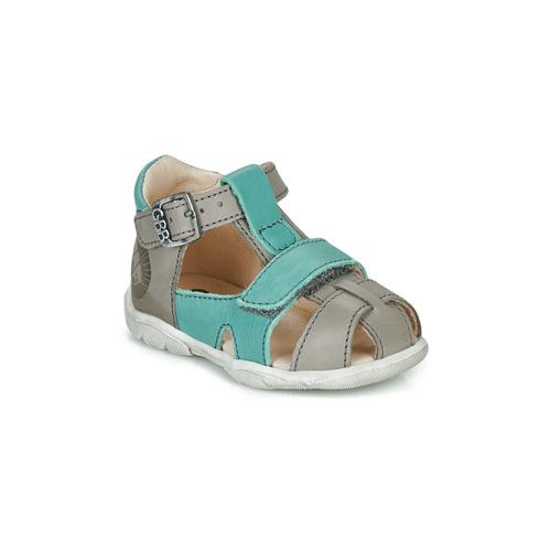 Shoes Boy Sandals GBB SEROLO Grey