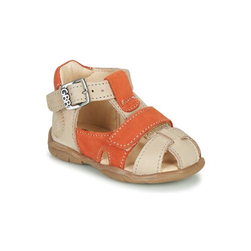 Shoes Boy Sandals GBB SEROLO Beige