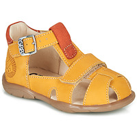 Shoes Boy Sandals GBB SEROLO Orange