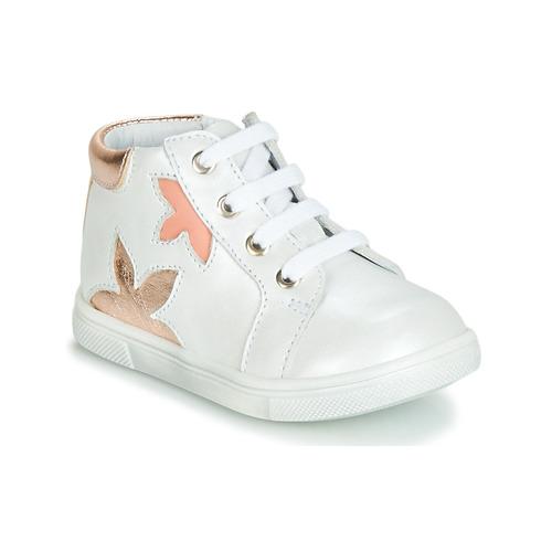 Shoes Girl Hi top trainers GBB ALEXA White