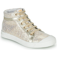 Shoes Girl Hi top trainers GBB NAVETTE White / Gold