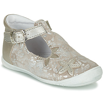 Shoes Girl Flat shoes GBB ANAXI Beige