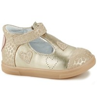 Shoes Girl Low top trainers GBB ANISA CRT OR-BEIGE IMPRIME DPF/TRILLY