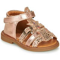 Shoes Girl Sandals GBB CARETTE Gold