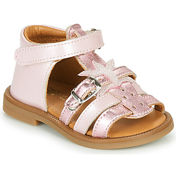 Shoes Girl Sandals GBB CARETTE VNV ROSE DPF/2794